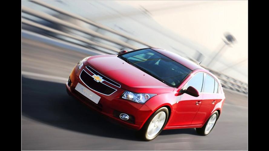 Chevrolet Cruze kommt mit Schrägheck