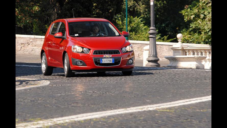 Chevrolet Aveo 1.2 86 CV LTZ