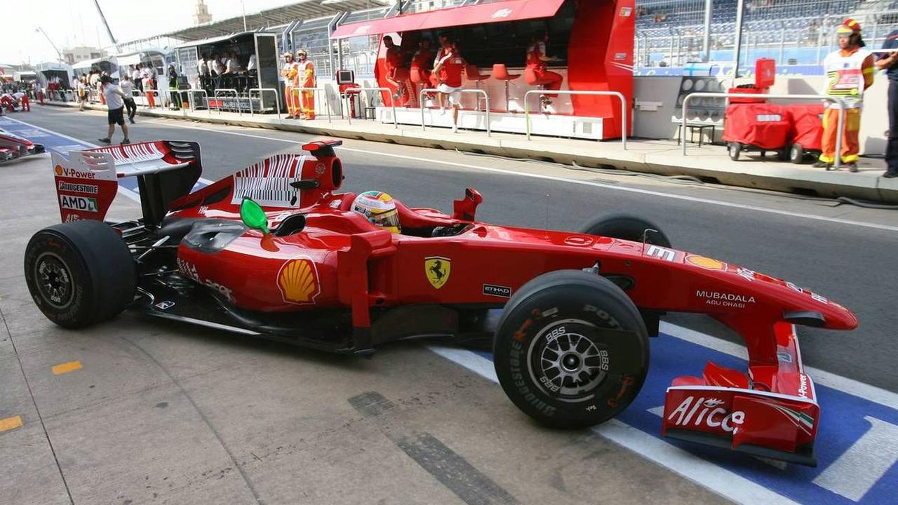 Luca Badoer, European Grand Prix, Valencia, Spain 21.08.2009