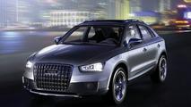 Audi Cross Coupe quattro Concept - hi res