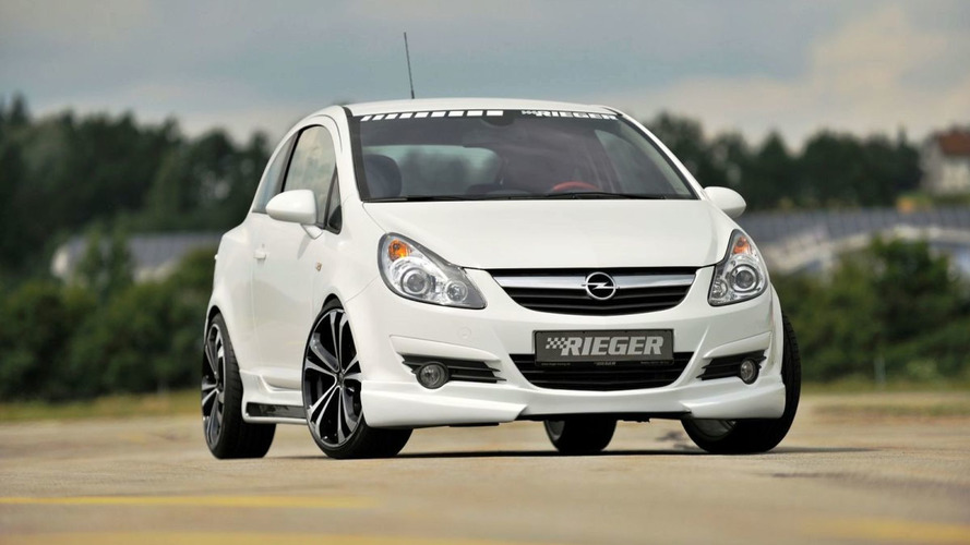 RIEGER offers new styling kit for Astra H and Corsa D