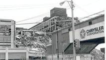Condemned Chrysler plant