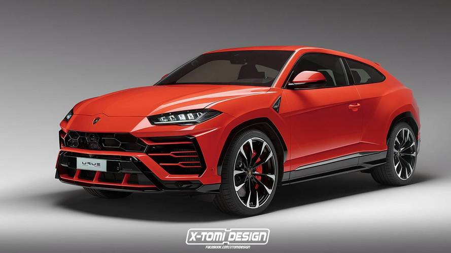 Lamborghini Urus'un coupe'si nasıl olurdu?