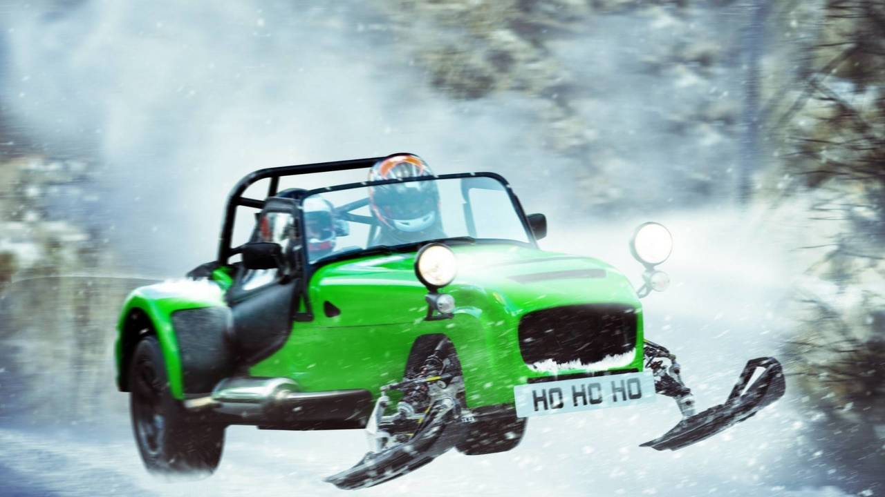 Caterham 620 Snowmobile