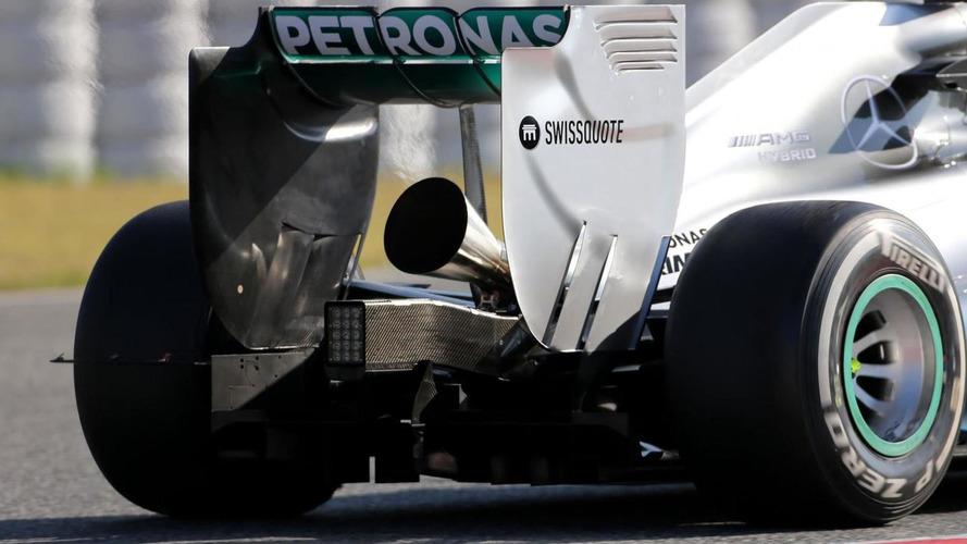 Megaphone exhaust 'didn't work - Rosberg