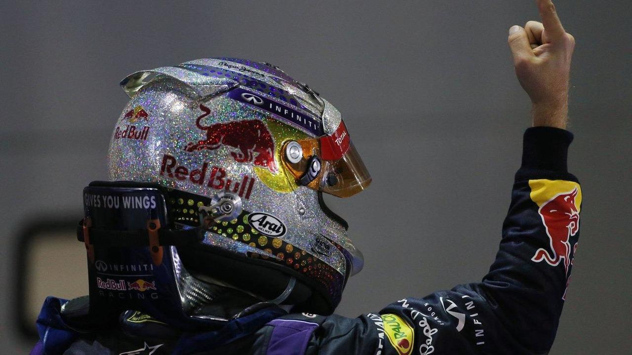 Sebastian Vettel 22.09.2013 Singapore Grand Prix