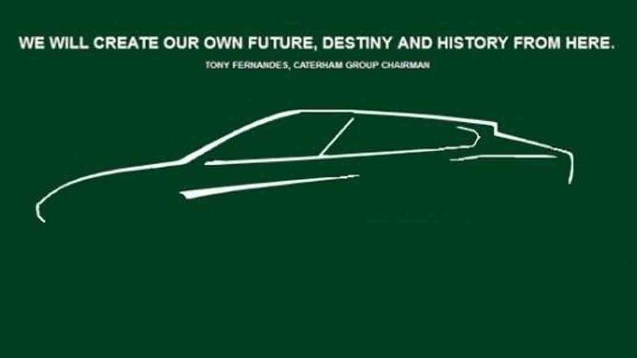 Caterham denies publishing this SUV sketch