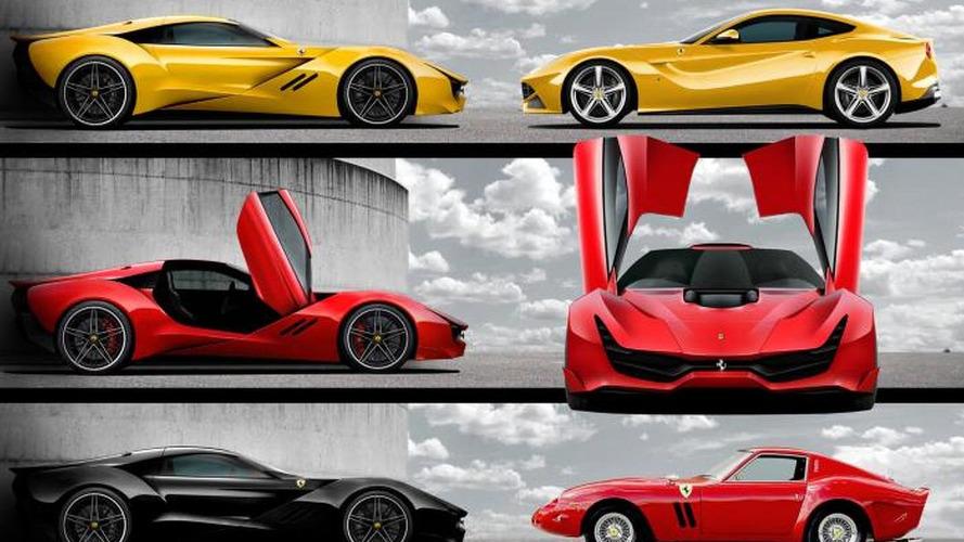 Designer envisions a Ferrari F12 Berlinetta successor named the CascoRosso