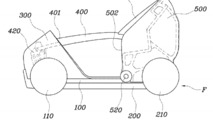 Hyundai patents a folding city car