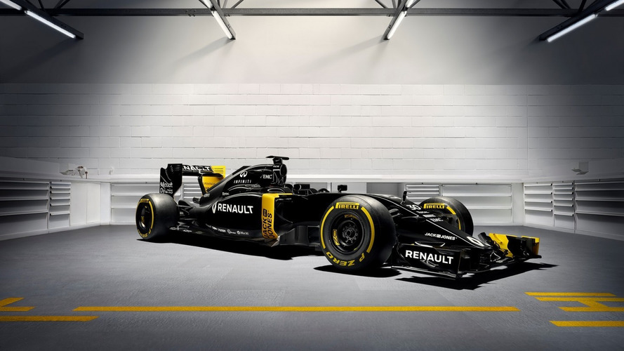 Renault reveals 2016 F1 car, Magnussen confirmed