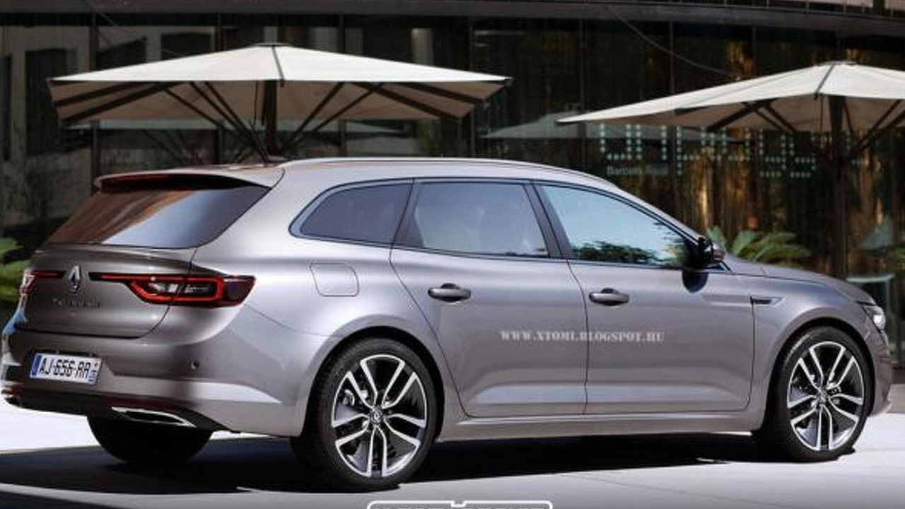 Renault TALISMAN wagon render