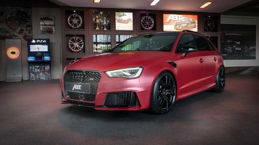 ABT revisits Audi RS3 Sportback to unlock 450 PS for Essen Motor Show