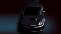 Subaru WRX STi first official teaser image