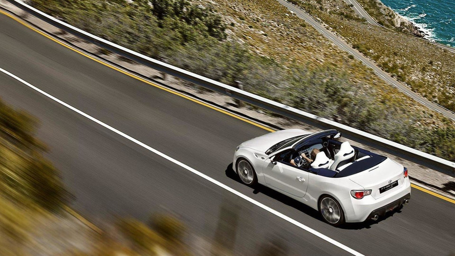 Toyota FT-86 Open convertible concept officially unveiled [VIDEO ADDED]