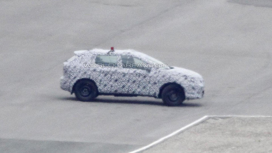 2014 Nissan Qashqai spied for the first time