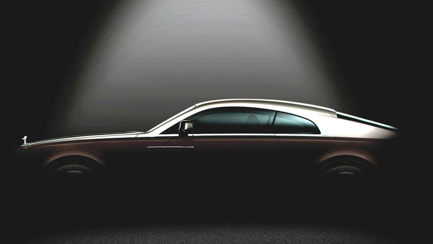 Rolls Royce Wraith (Ghost Coupe) second teaser released