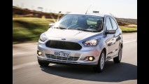 Salão SP: recém-lançados, Ford Ka+ 1.0 e Ka 1.5 também marcam presença