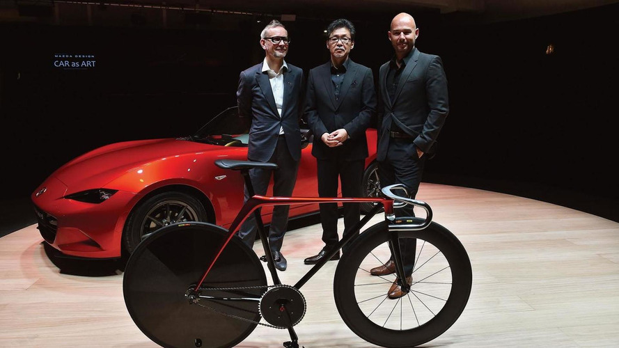 Mazda designers create a bicycle and a sofa