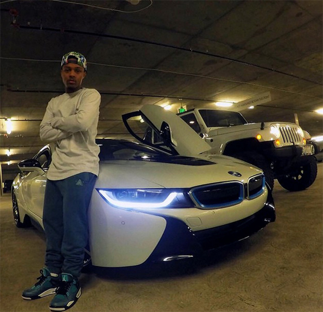 Bow Wow's Fiance Bought Him a BMW i8