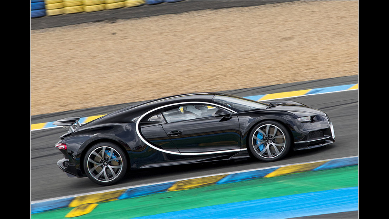 Bugatti Chiron: 2,5 Sekunden