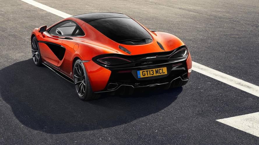 McLaren ofrece un nuevo sistema de escape a sus clientes