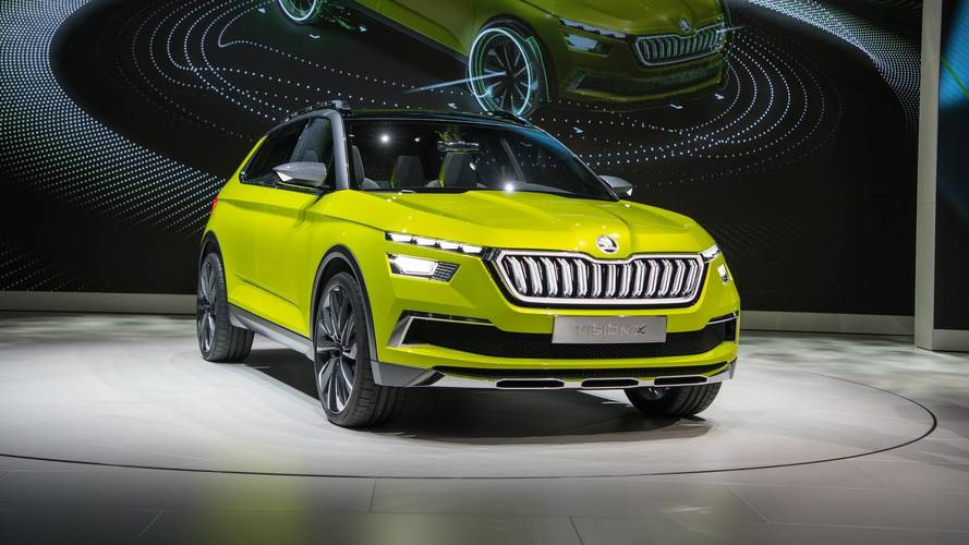 Skoda Vision X konsepti Cenevre Otomobil Fuarı'nda tanıtıldı