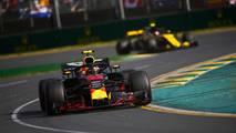 Max Verstappen y Carlos Sainz