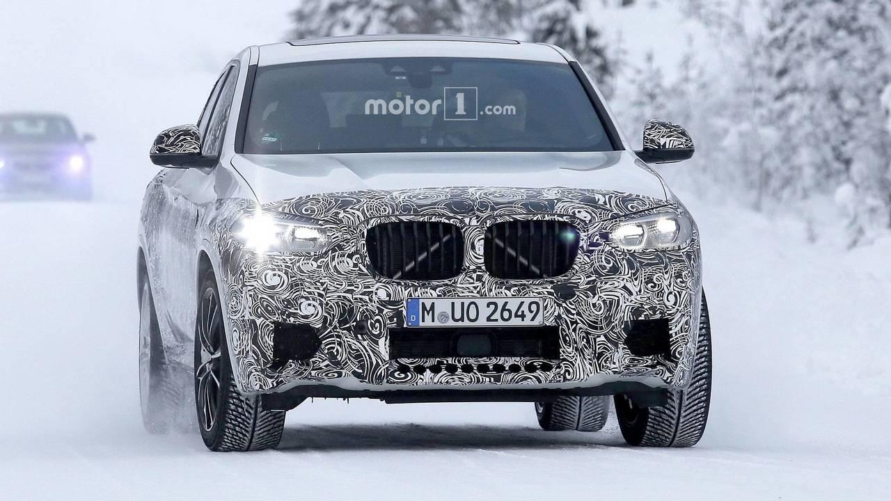 2019 BMW X4 M casus fotoğraf