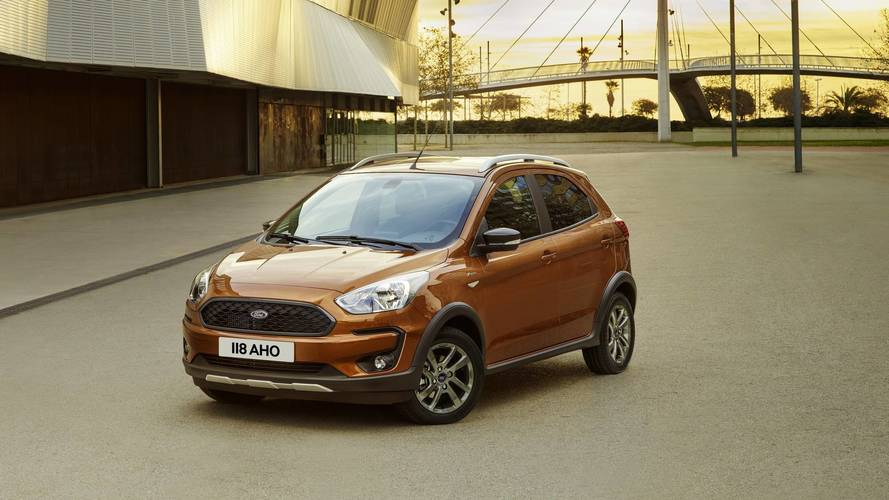 Ford Ka+ Facelift Unveiled With Crossover-Esque Active Version