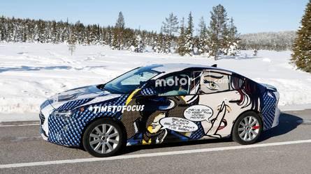 Un camouflage étonnant pour la nouvelle Ford Focus