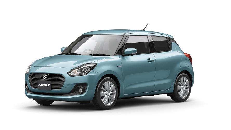 2017 Suzuki Swift resmi olarak tanıtıldı