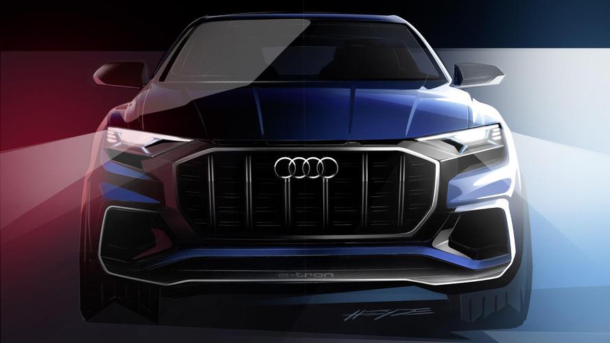 Audi Q8 E-tron teaser
