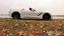 Corvette Stingray Profil droit cabrio