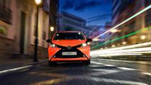 Toyota Aygo 2017 3p naranja