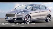 Maior e mais refinado, novo Fiesta 2017 é antecipado por projeção