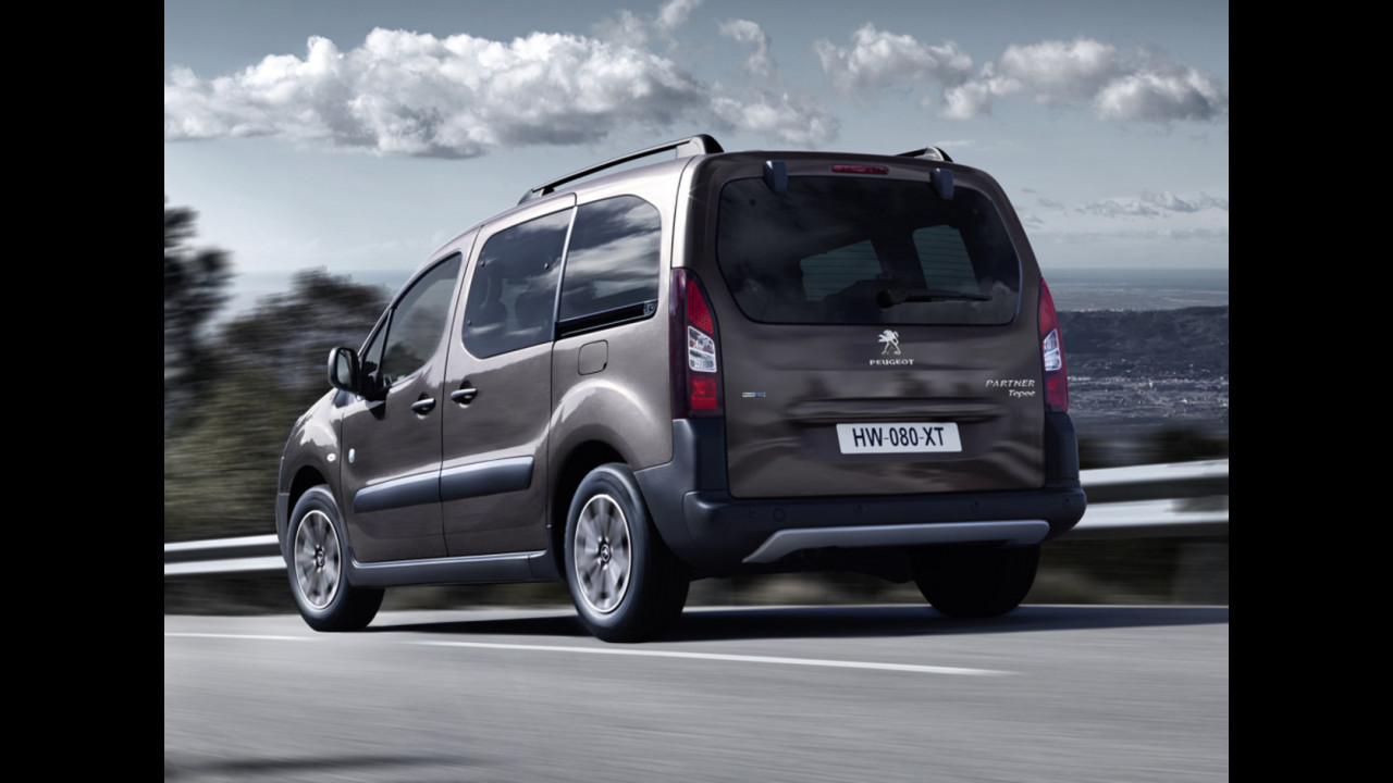 Peugeot Partner Tepee restyling 2015
