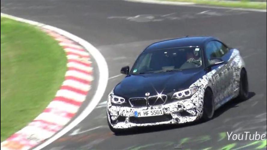 "BMW M2, sportiva ""perfetta"" in arrivo [VIDEO]"