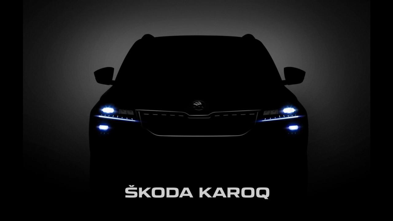 Skoda Karoq, le prime immagini