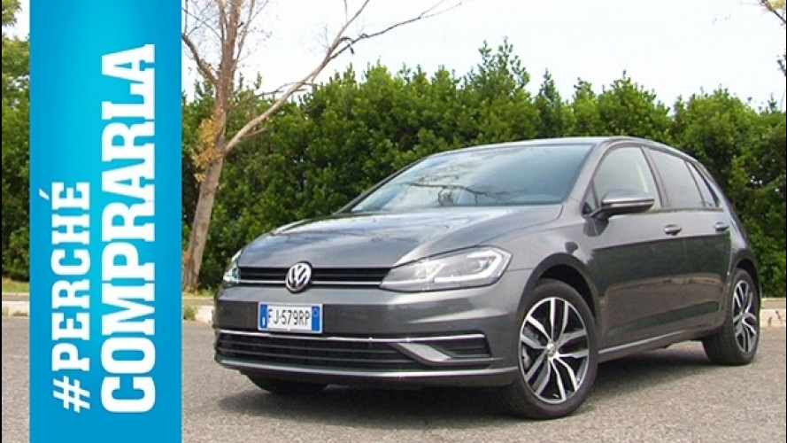 Volkswagen Golf, perché comprarla... e perché no [VIDEO]