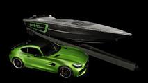 Cigarette Racing Mercedes-AMG GT R boat