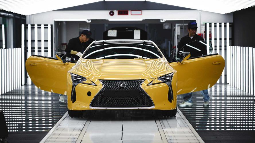 Lexus lance la production de son coupé LC