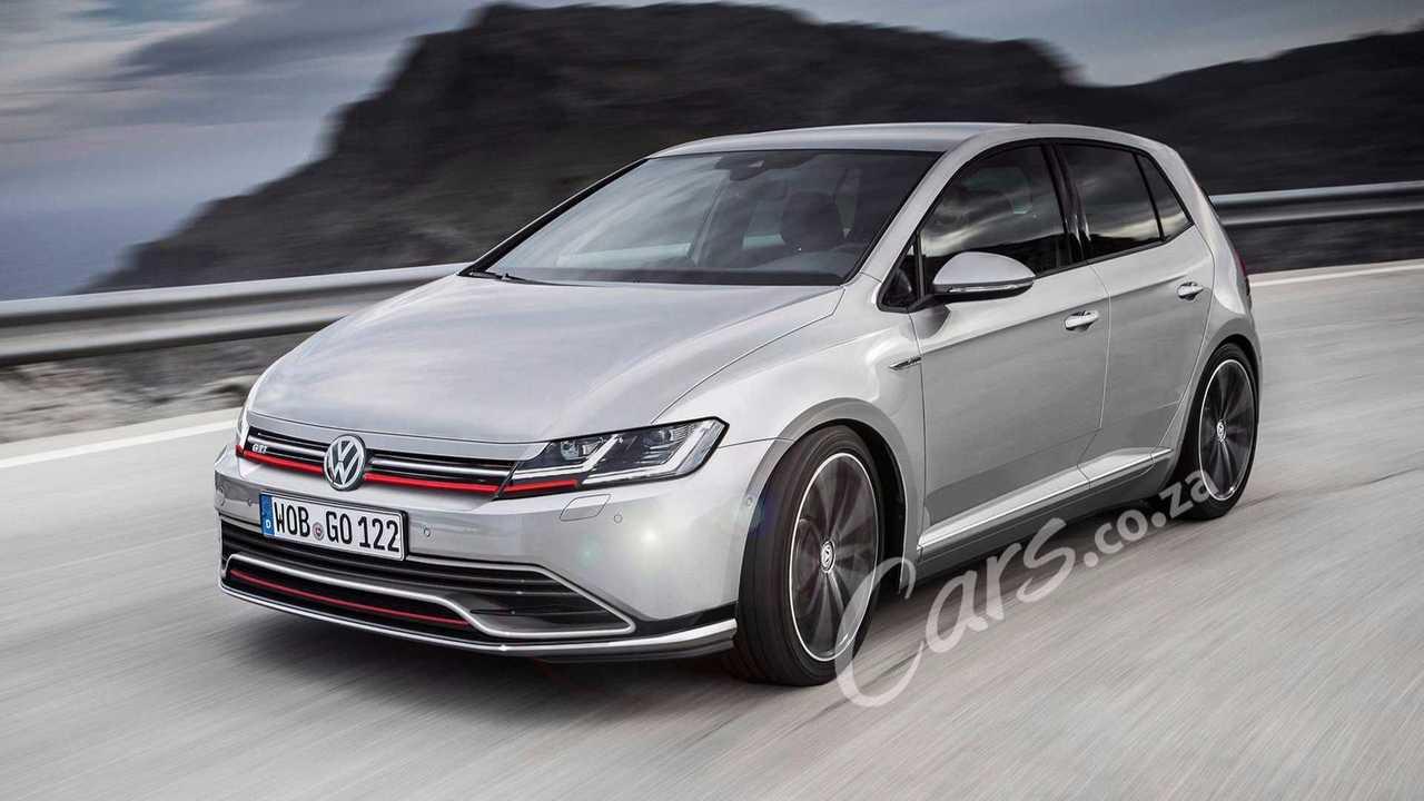 2020 VW Golf GTI render