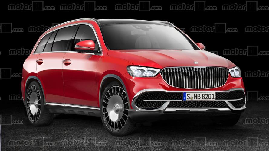 Render del Mercedes-Maybach SUV: lujo campero