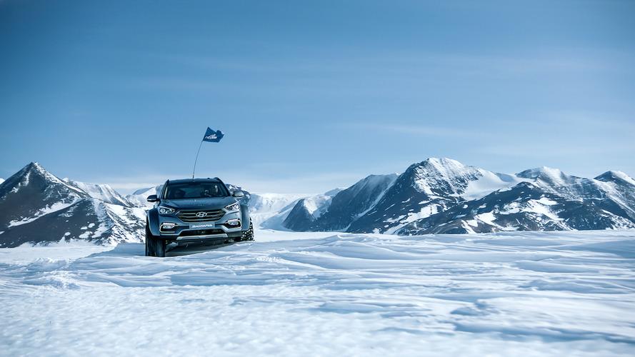 El Hyundai Santa Fe conquista la Antártida