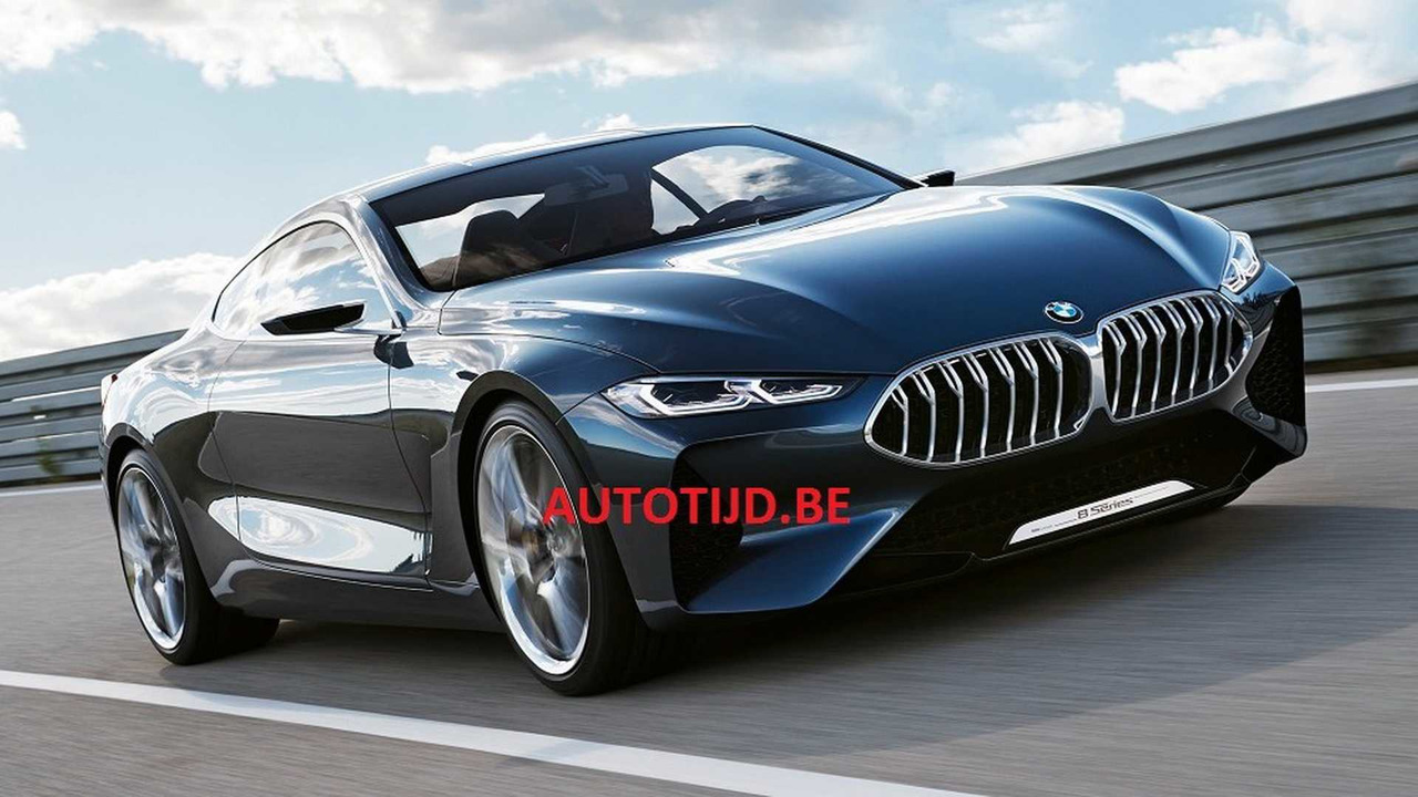 BMW 8 Series concept leaked official image