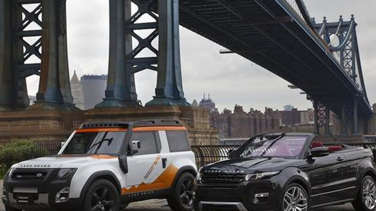 2019 land rover defender spy shots. land rover dc100 expedition and range evoque cabrio concepts in new york, 500,. 11 photos 2019 defender spy shots p