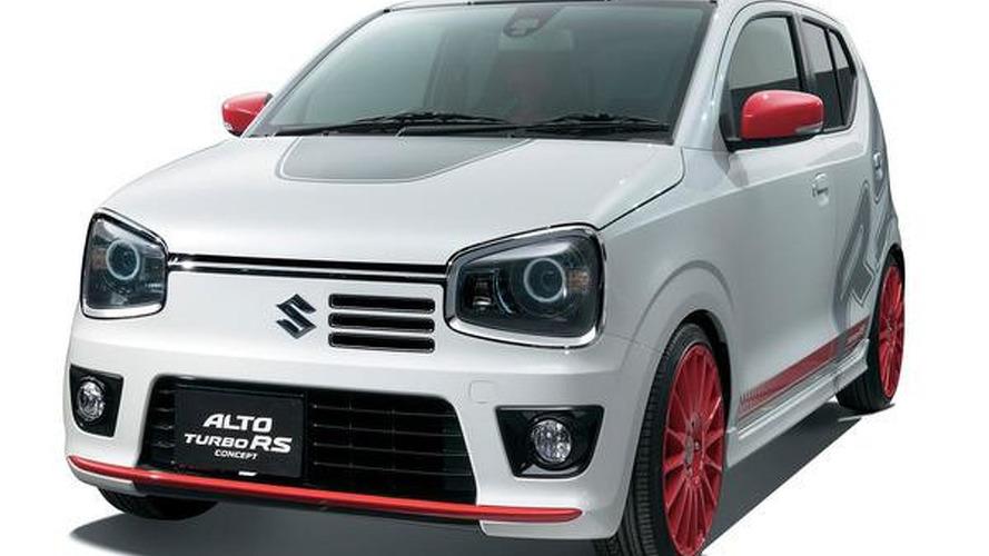 Suzuki Alto RS Turbo previewed ahead of Tokyo Auto Salon debut