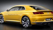 Volkswagen Corrado revival render