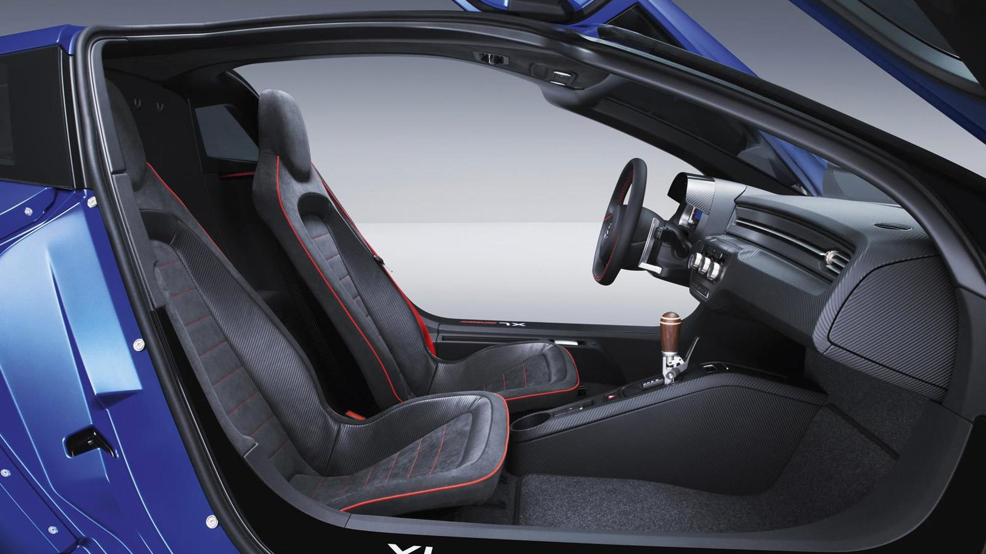 Двухместный салон Volkswagen XL Sport