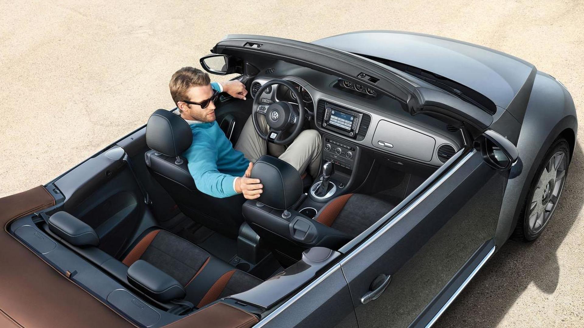 VW Beetle Karmann: авто в стиле ретро